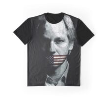 JULIAN ASSANGE Graphic T-Shirt