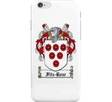Fitz-Row (Waterford) iPhone Case/Skin