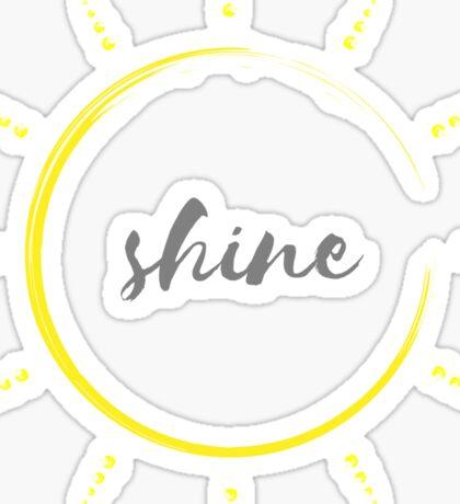 shine bright Sticker