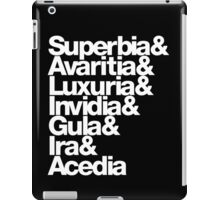 saligia (latin) iPad Case/Skin