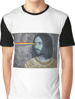 Kevin Rainbow Graphic T-Shirt