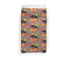 The Bear in autumn forest Duvet Cover