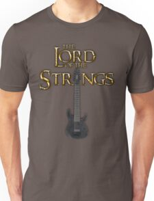 Lord of the Strings (color) Unisex T-Shirt