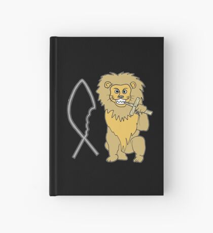 feed them to the lions Hardcover Journal