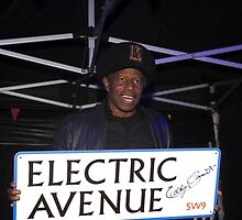 Eddy Grant (of Electric Avenue fame!) by Keith Larby