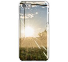 Irrigation Sunset 2 iPhone Case/Skin