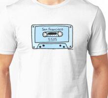 San Francisco Cassette  Unisex T-Shirt