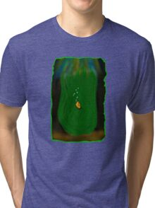 Nervous Clownfish  Tri-blend T-Shirt