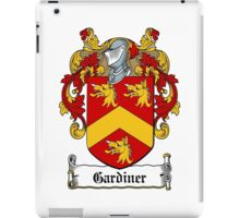 Gardiner  iPad Case/Skin