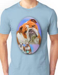 English Bulldog Breed Art Unisex T-Shirt