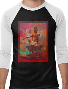 Quan Yin Men's Baseball ¾ T-Shirt