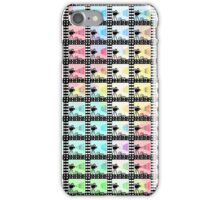 Retro movie pattern iPhone Case/Skin