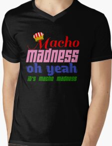 Macho Madness (Mario Colors Edition!) Mens V-Neck T-Shirt