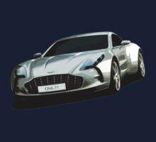 Aston Martin One-77 sports car Kids Tee