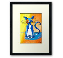 One Cool Cat Framed Print