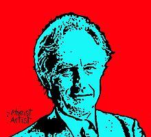 Richard Dawkins by DJVYEATES