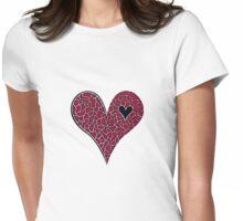 Heart Design #2 Womens Fitted T-Shirt