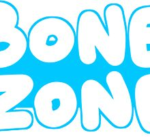 """Bone Zone"" - Sticker by Bethany Maree Edwina Symons"