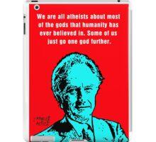 Richard Dawkins atheist iPad Case/Skin