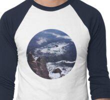 Blue Ocean Men's Baseball ¾ T-Shirt
