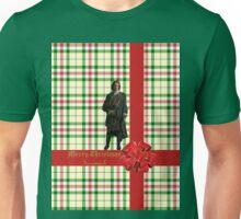 Merry Christmas Sassenach plaid  Unisex T-Shirt