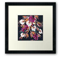 Cute beautiful Hawaii flowers : new art in Shop 2016 Framed Print