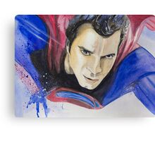 Man of Steel-Part2 Canvas Print