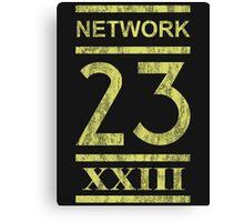 This is N-N-N-N-Network 23! Canvas Print