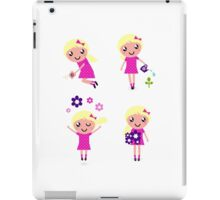 Cute little garden characters. New design in shop! iPad Case/Skin