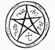 Supernatural Devil Trap by ashrakat300