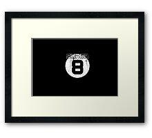 Super 8 Framed Print
