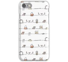 Coffee Lines iPhone Case/Skin
