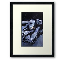 Grey Fox a.k.a Ninja Framed Print