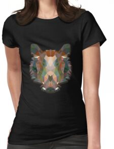 Boar Animals Gift Womens Fitted T-Shirt