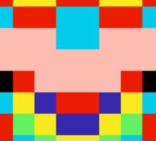 Pixel Captain Rainbow Sticker