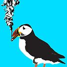 Puffin puffin on a cigar by monsterplanet