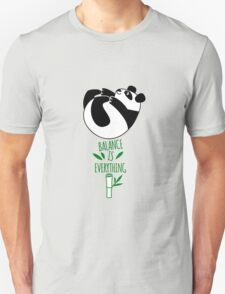 Balance Is Everything! Tumbling panda. T-Shirt