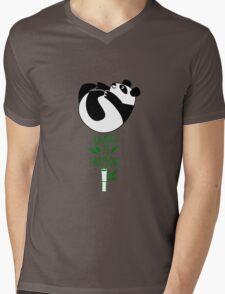 Balance Is Everything! Tumbling panda. Mens V-Neck T-Shirt