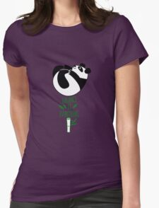 Balance Is Everything! Tumbling panda. Womens T-Shirt