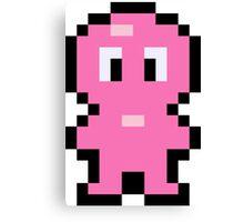 Pixel Jelly Boy Canvas Print