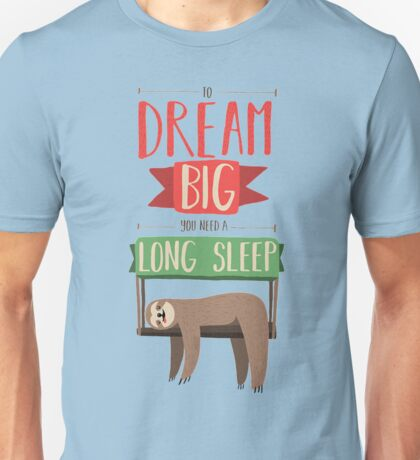 Sleeppp.... Unisex T-Shirt