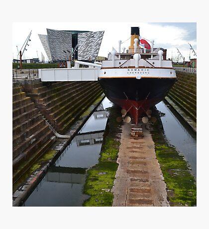 SS Nomadic in Belfast Photographic Print