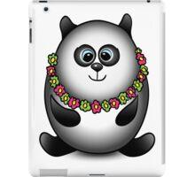 Panda traveler isolated character iPad Case/Skin