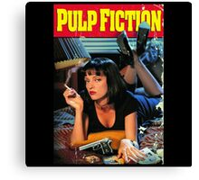 Pulp Fiction Poster Canvas Print