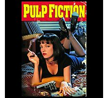 Pulp Fiction Poster Photographic Print