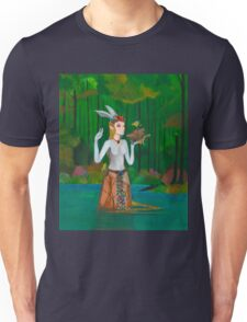 The Forest Sapphire Unisex T-Shirt