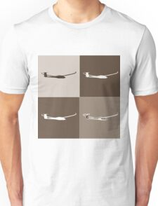 Sepia Glider Unisex T-Shirt