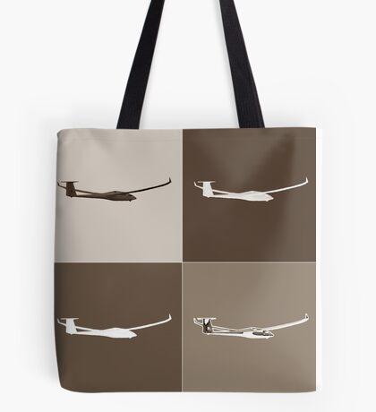 Sepia Glider Tote Bag