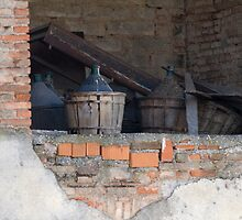 old wine barrel by spetenfia