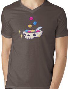 Pixels for Breakfast Logomark Mens V-Neck T-Shirt